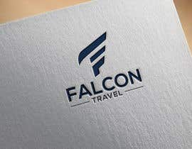 #165 untuk Logo design for new travel and tourism company selling travel tickets, hotel booking, and other tours .  Name of company is FALCON TRAVEL oleh orchitech67