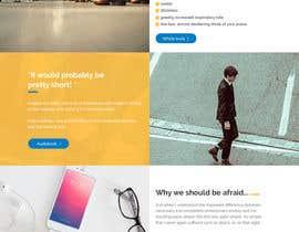 #38 for GREAT JOB: redesign of a website af SwiftTech3