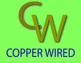 afifa1205 tarafından Copper Wired Logo için no 101