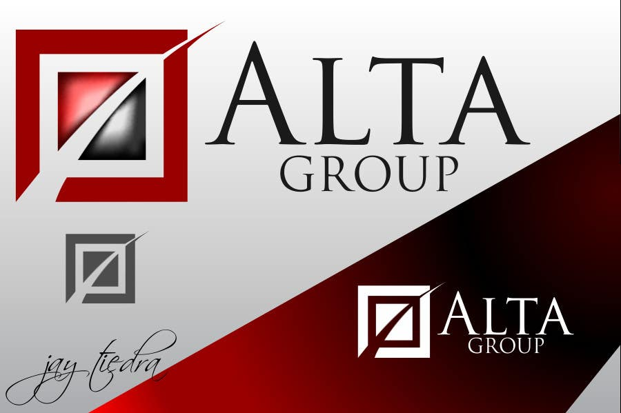 Konkurransebidrag #135 i Logo Design for Alta Group-Altagroup.ca ( automotive dealerships including alta infiniti (luxury brand), alta nissan woodbridge, Alta nissan Richmond hill, Maple Nissan, and International AutoDepot