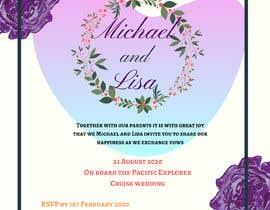 nurinadrianaa97 tarafından Wedding Invitation için no 4