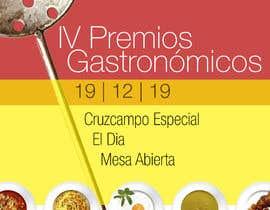 #52 untuk DISEÑO DE CARTEL PREMIOS GASTRONÓMICOS oleh Caesarcv