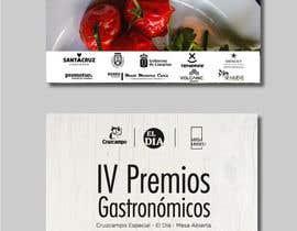 #55 untuk DISEÑO DE CARTEL PREMIOS GASTRONÓMICOS oleh eleanatoro22
