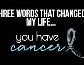 #4 untuk I want a T shirts for cancer awareness.  The word Cancer should be in different colors to represent the different types of Cancer.  This will be placed on a dark colored shirt. oleh magdureira