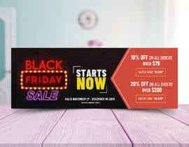 Nro 65 kilpailuun Black Friday Banner käyttäjältä mindlogicsmdu