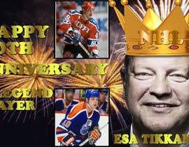 #8 untuk Suunnittele esite for NHL star Esa Tikkanen oleh wilsonmathew96