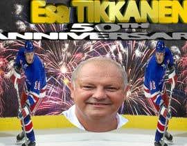 #12 untuk Suunnittele esite for NHL star Esa Tikkanen oleh mustafaali58
