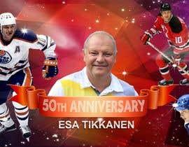 #6 untuk Suunnittele esite for NHL star Esa Tikkanen oleh soumen59