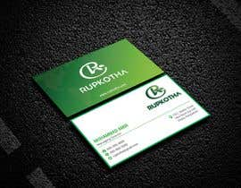 #14 untuk Need a Business Card with the Logo I provided. oleh rhasandesigner