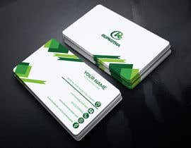 #76 untuk Need a Business Card with the Logo I provided. oleh Sumona3338