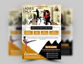 #34 cho Design a LADIES ONLY BOXING poster - A4 size bởi satishandsurabhi