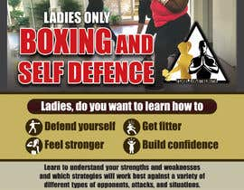 #25 cho Design a LADIES ONLY BOXING poster - A4 size bởi MaherajR