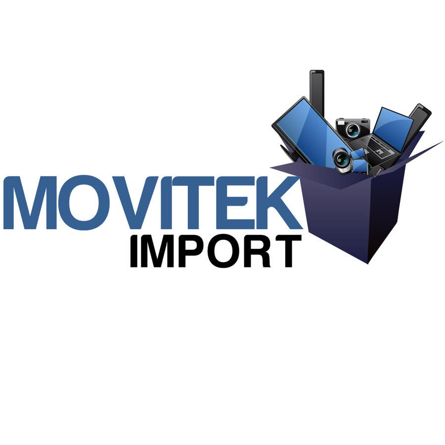 Logo Design For Electronic Imports Store