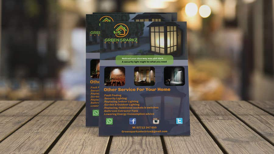 Contest Entry #14 for domestic electrical business marketing flyer  - 22/11/2019 07:39 EST