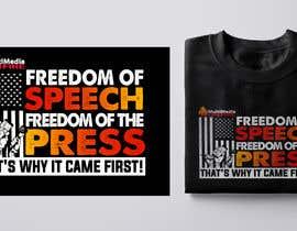 #89 для First Amendment T Shirt от Emranhossain388