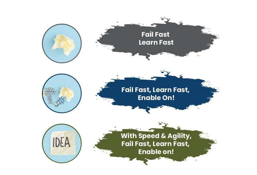 """Intrarea #15 pentru concursul """"3 Simple editable Graphic in Powerpoint - Fail Fast; Learn Fast"""""""