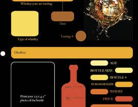 nº 5 pour Create 2-Sided Print Design for a Whiskey Enthusiast Product par ndreamc