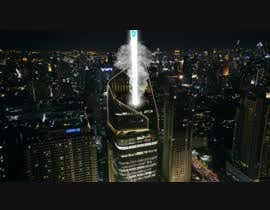 #4 for Film ----------- Add Fire and Smoke and blue beams to this city shot ------ VFX --------  Cinema ------- 10 seconds af bmjoy99