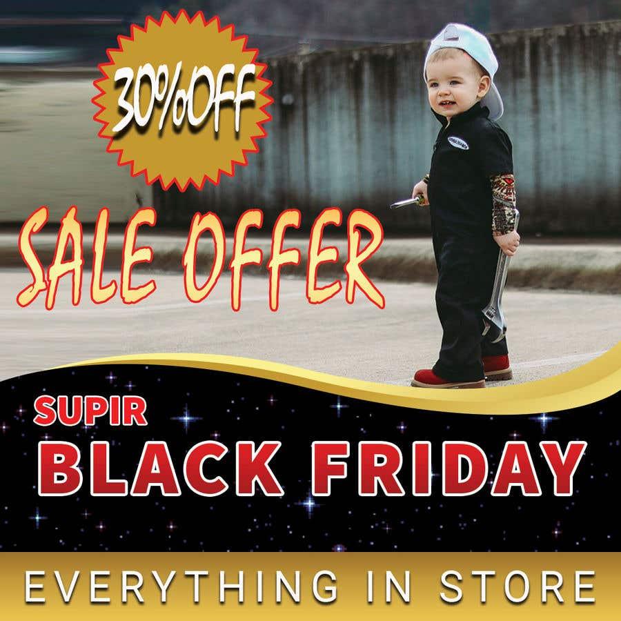 Konkurrenceindlæg #                                        98                                      for                                         banner for Black Friday sale