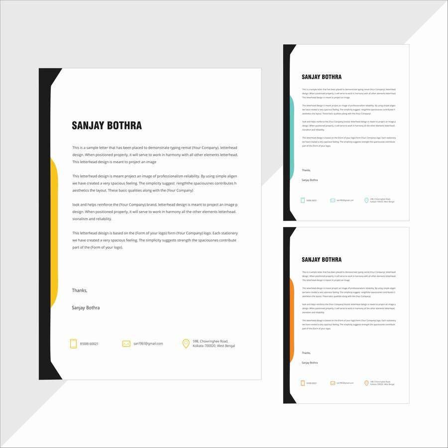 Konkurrenceindlæg #                                        79                                      for                                         Letterhead design