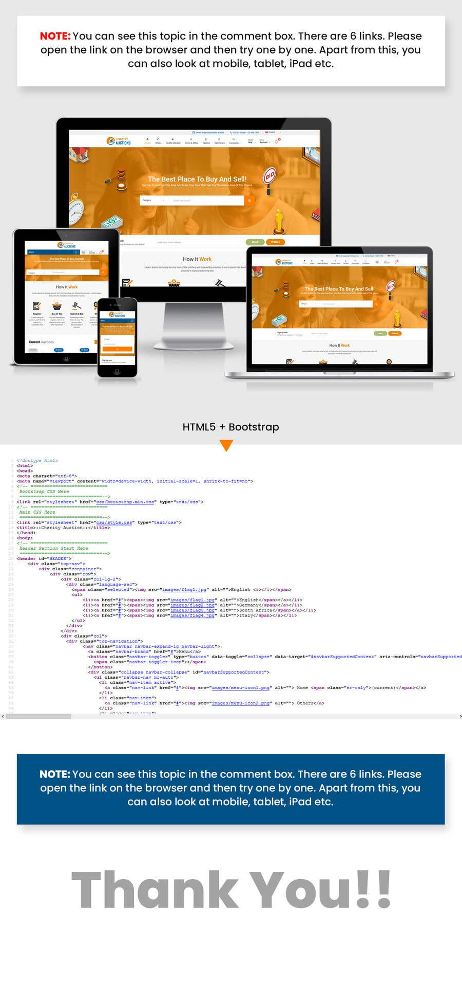 Entry 44 By Webstudioo For Create A Html5 Compliant Auction Website Design Freelancer