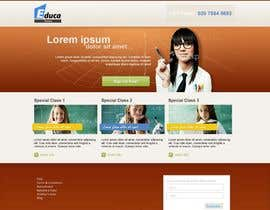 #28 dla Website Design for Educa Tutors przez WebHens