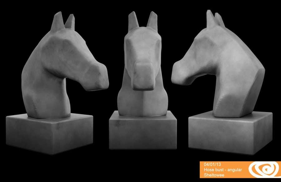 Konkurrenceindlæg #                                        43                                      for                                         Graphic Design for a unique Horse Statue.