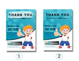 #56 for thank you note on flyer by Muhib10