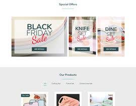 #52 for Cool Website Design for Store by ganiprayoga9