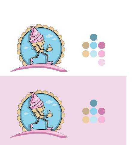 Bài tham dự cuộc thi #                                        24                                      cho                                         Frozen Yogurt Logo Design