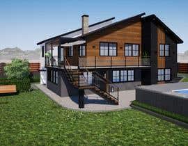 Nro 60 kilpailuun Makeover - House / Facade with Swimming Pool & Garden käyttäjältä wildandihas