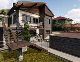 Nro 66 kilpailuun Makeover - House / Facade with Swimming Pool & Garden käyttäjältä Djedoo