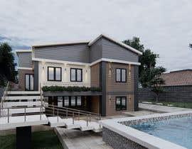 Nro 59 kilpailuun Makeover - House / Facade with Swimming Pool & Garden käyttäjältä maiiali52