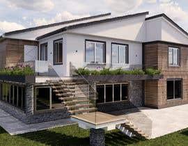 Nro 39 kilpailuun Makeover - House / Facade with Swimming Pool & Garden käyttäjältä emolla14