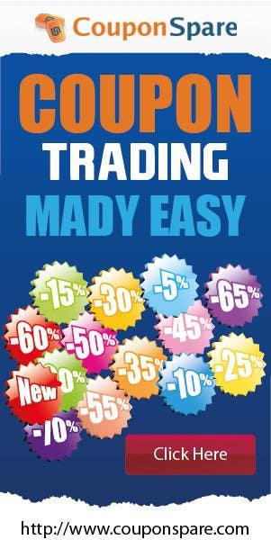 Konkurrenceindlæg #                                        5                                      for                                         Banner Ad Design for Coupon Trading