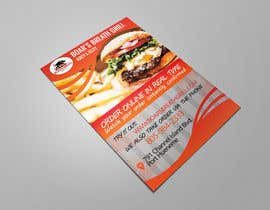 #27 for Create a DropIn 5x7 flyer for a restaurant. by raisulict