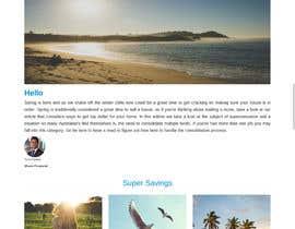 #3 para Design a Newsletter using HTML por jgw9617