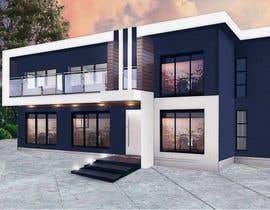 #9 untuk Design a contemporary facade for a new house oleh Crussader
