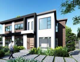 #14 untuk Design a contemporary facade for a new house oleh robmendz08