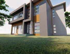 #3 untuk Design a contemporary facade for a new house oleh tanitarchitect