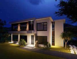 #24 untuk Design a contemporary facade for a new house oleh tanitarchitect