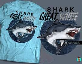 #94 для Graphic Design for Endangered Species - Great White Shark от GribertJvargas