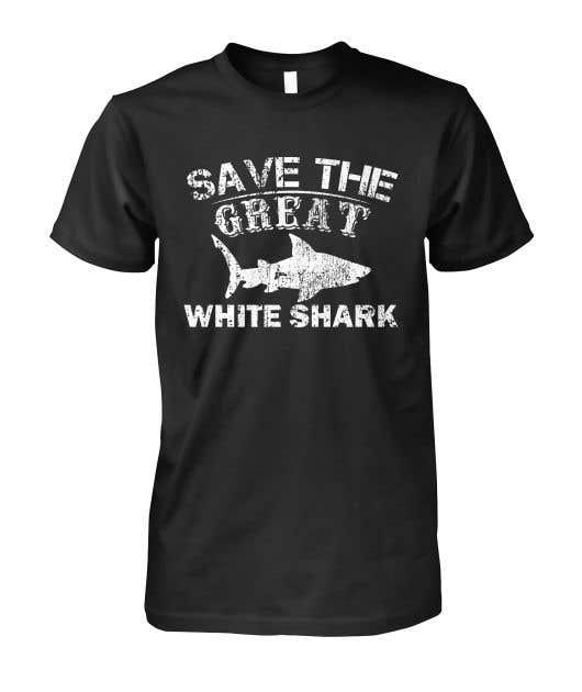 Kilpailutyö #38 kilpailussa Graphic Design for Endangered Species - Great White Shark