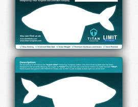 #26 untuk Need Fishing Retail Insert Card Designed oleh keeyse