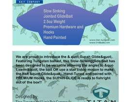#25 untuk Need Fishing Retail Insert Card Designed oleh mdnayon45