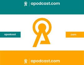 Nro 70 kilpailuun ((Å))podcast.com logo / business card / favicon käyttäjältä rakibhasanpriyo