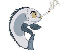 #12 для Graphic of fish smoking от FabianMercado