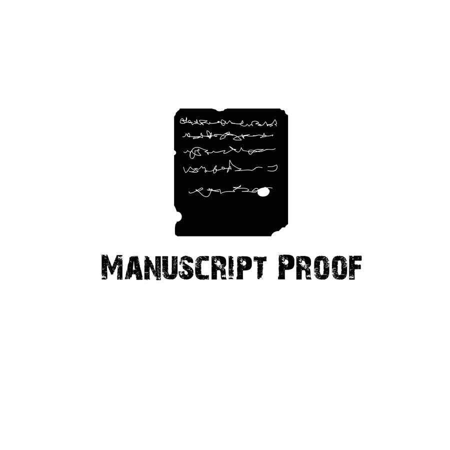 Bài tham dự cuộc thi #                                        25                                      cho                                         Logo Design for Manuscript Proof