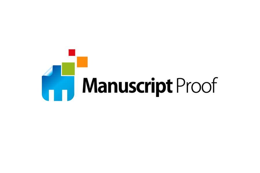 Bài tham dự cuộc thi #                                        87                                      cho                                         Logo Design for Manuscript Proof