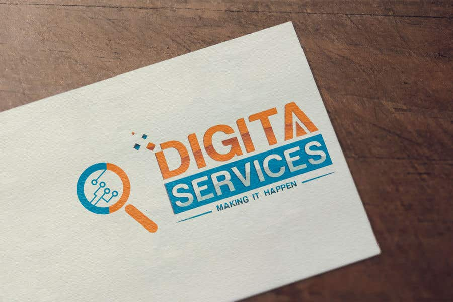 Contest Entry #7 for Logo & Name brand for Digita Services